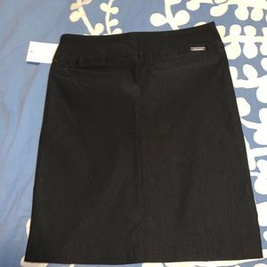 Women's black pencil skirt size small